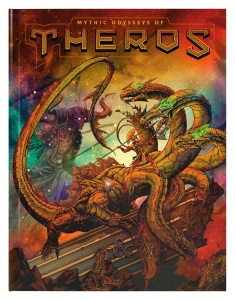 Mythic Odysseys of Theros cover
