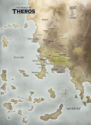 Theros map